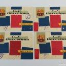 Coleccionismo deportivo: CARNET SOCIO FC BARCELONA PRIMER SEGUNDO TERCER CUARTO TRIMESTRE CARNETS SOCI BARÇA 1 2 3 4 CF. Lote 143609972