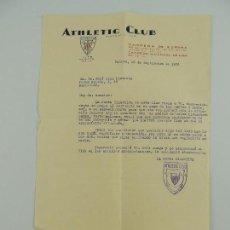 Coleccionismo deportivo: CARNET DE COCIO DE ATHLETIC CLUB DE BILBAO AÑO 1936. Lote 146265610