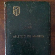Coleccionismo deportivo: CARNET DE SOCIO DEL ATLÉTICO DE MADRID. MILITAR, AÑO 1949.. Lote 146978198