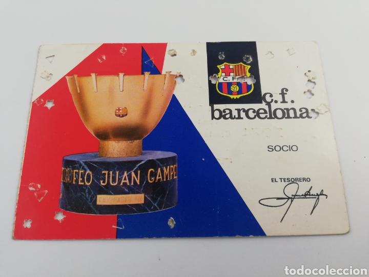 ANTIGUO CARNET SOCIO SOCI FC BARCELONA ANUAL TEMPORADA AÑO 1967 BARÇA. (Coleccionismo Deportivo - Documentos de Deportes - Carnet de Socios)