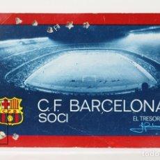 Coleccionismo deportivo: CARNET DE SOCIO - C.F. BARCELONA 1973 - ABONO ANUAL 1973 - BARÇA. Lote 147317074