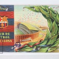 Coleccionismo deportivo: CARNET DE SOCIO - C.F. BARCELONA 1958 - ABONO ANUAL 1958 - BARÇA. Lote 147317564