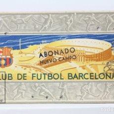 Coleccionismo deportivo: CARNET DE SOCIO - C.F. BARCELONA 1956 - ABONO ANUAL 1956 - BARÇA. Lote 147317660