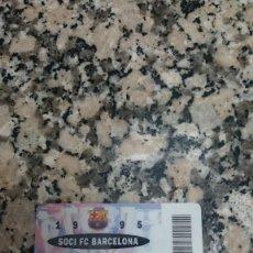 Coleccionismo deportivo: CARNET SOCI FC. BARCELONA .1995 . Lote 148074158