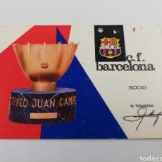 Coleccionismo deportivo: CARNET SOCIO SOCI CF FC BARCELONA AÑO 1967 PRIMER 1 TRIMESTRE BARÇA.. Lote 148970254