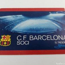Coleccionismo deportivo: CARNET SOCIO SOCI CF FC BARCELONA SEGUNDO 2 TRIMESTRE 1973 BARÇA.. Lote 148971774