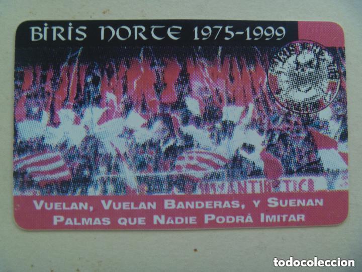 CARNET DE SOCIO DE ULTRAS DEL SEVILLA F.C. , BIRIS NORTE , 1975 - 1999 (Coleccionismo Deportivo - Documentos de Deportes - Carnet de Socios)