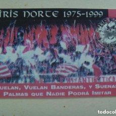 Coleccionismo deportivo: CARNET DE SOCIO DE ULTRAS DEL SEVILLA F.C. , BIRIS NORTE , 1975 - 1999. Lote 155393774