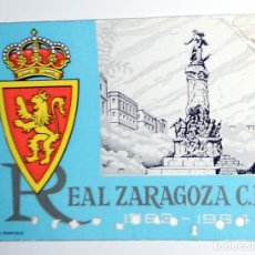 Coleccionismo deportivo: CARNET ABONADO SOCIO REAL ZARAGOZA CD - FUTBOL - TEMPORADA 1963-1964 63/64 - ANTIGUO. Lote 156839542
