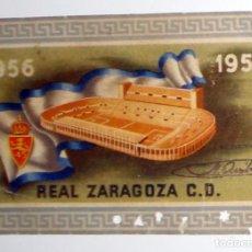 Coleccionismo deportivo: CARNET ABONADO SOCIO REAL ZARAGOZA CD FUTBOL TEMPORADA 1957-1958 57/58 ANTIGUO PRIMER AÑO ROMAREDA . Lote 156839978