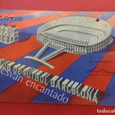 Coleccionismo deportivo: CF BARCELONA. CARNET DE SOCIO 1ER TRIMESTRE 1963. Lote 157735018