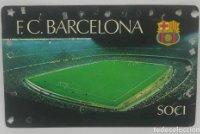 1980 FC Barcelona carnet de soci anual 1980. Carnet de socio Futbol Club Barcelona