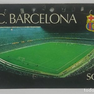 1980 FC Barcelona carnet de soci anual 1980. Carnet de socio Futbol Club Barcelona 11x7cm