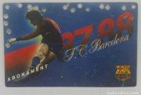 87/88 FC Barcelona. Abonament temporada Gold nord tercera graderia Futbol Club Barcelona