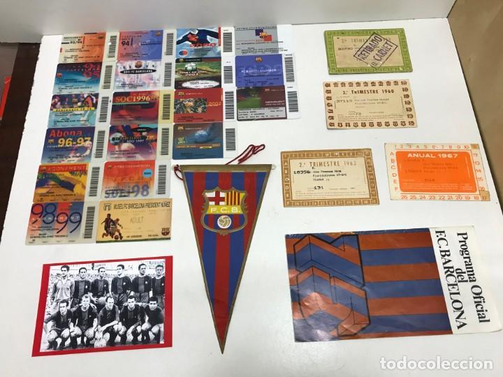 LOTE 22 CARNET SOCIO BARÇA VER FOTOS Y DESCRIPCION (Coleccionismo Deportivo - Documentos de Deportes - Carnet de Socios)
