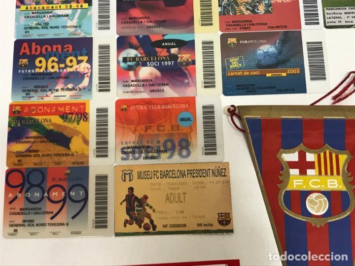 Coleccionismo deportivo: LOTE 22 CARNET SOCIO BARÇA VER FOTOS Y DESCRIPCION - Foto 5 - 162986518