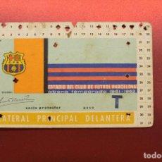 Coleccionismo deportivo: FUTBOL CLUB BARCELONA, ABONO TEMPORADA 1961-62. Lote 171454403