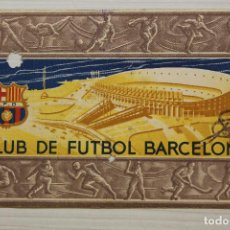 Coleccionismo deportivo: FUTBOL CLUB BARCELONA, CARNET SOCIO 1956. Lote 171667933