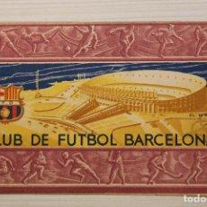 Coleccionismo deportivo: FUTBOL CLUB BARCELONA, CARNET SOCIO 1956. Lote 171668102