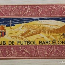 Coleccionismo deportivo: FUTBOL CLUB BARCELONA, CARNET SOCIO 1956. Lote 171668254