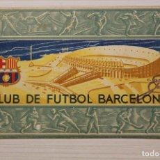 Coleccionismo deportivo: FUTBOL CLUB BARCELONA, CARNET SOCIO 1956. Lote 171668305