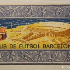 Coleccionismo deportivo: FUTBOL CLUB BARCELONA, CARNET SOCIO 1956. Lote 171668343