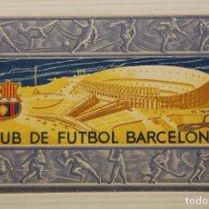 Coleccionismo deportivo: FUTBOL CLUB BARCELONA, CARNET SOCIO 1956. Lote 171668407