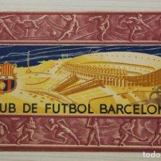 Coleccionismo deportivo: FUTBOL CLUB BARCELONA, CARNET SOCIO 1956. Lote 171668489