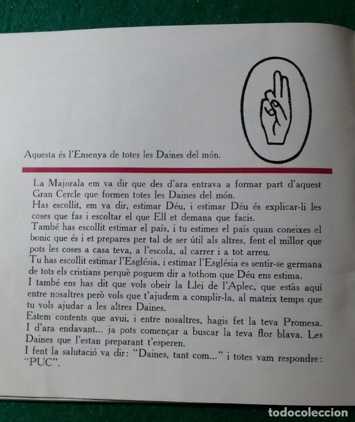 Coleccionismo deportivo: carnet de la daina boy scouts catalanes de seccion niñas boyscouts - Foto 2 - 172766847