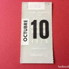 Coleccionismo deportivo: CUPÓN ABONO SOCIO MENSUAL ATLÉTICO DE MADRID (OCTUBRE, 1970). ORIGINAL. COLECCIONISTA.. Lote 173771398