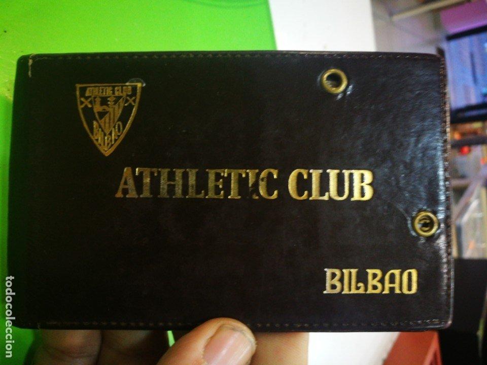 ATHLETIC CLUB BILBAO CARNET ANTIGUO (Coleccionismo Deportivo - Documentos de Deportes - Carnet de Socios)