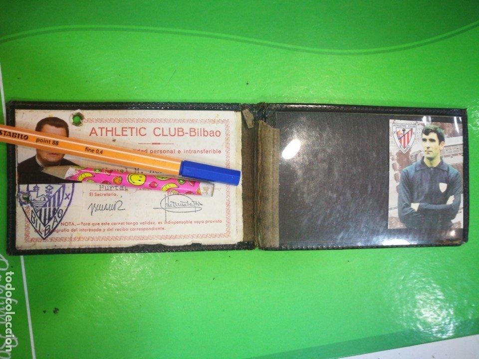 Coleccionismo deportivo: ATHLETIC CLUB BILBAO Carnet antiguo - Foto 2 - 173985912