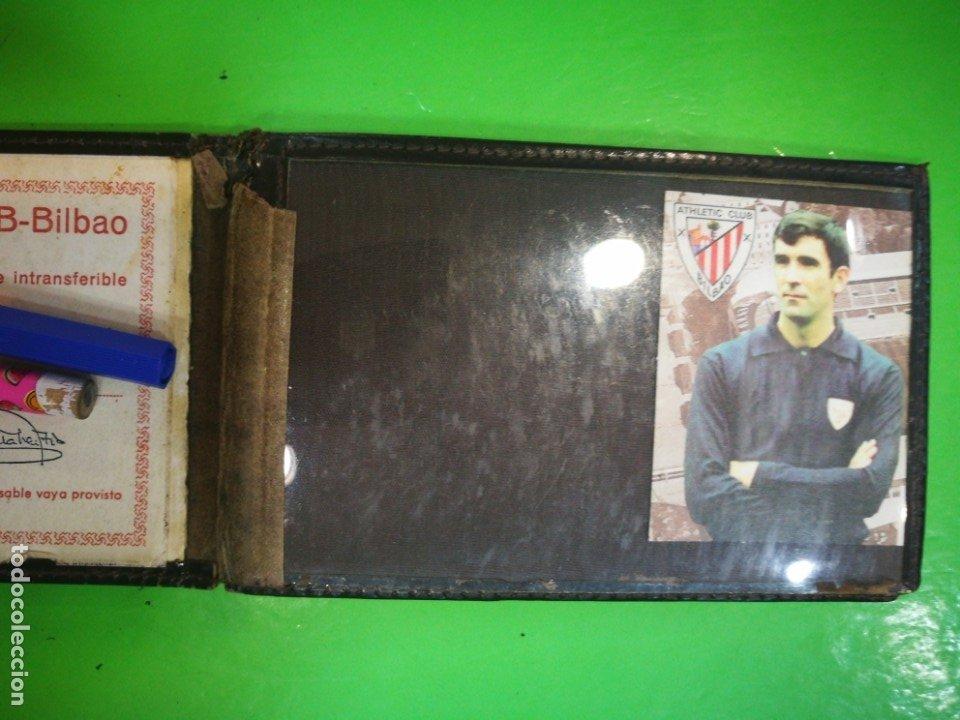 Coleccionismo deportivo: ATHLETIC CLUB BILBAO Carnet antiguo - Foto 4 - 173985912