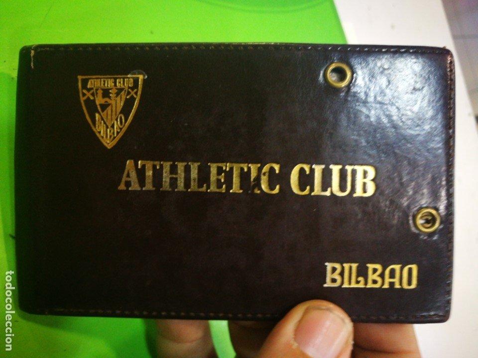 Coleccionismo deportivo: ATHLETIC CLUB BILBAO Carnet antiguo - Foto 6 - 173985912