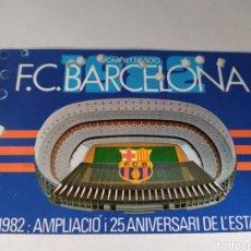 Coleccionismo deportivo: BARCELONA CARNET DE SOCIO ANUAL TEMPORADA 1982. Lote 175130909