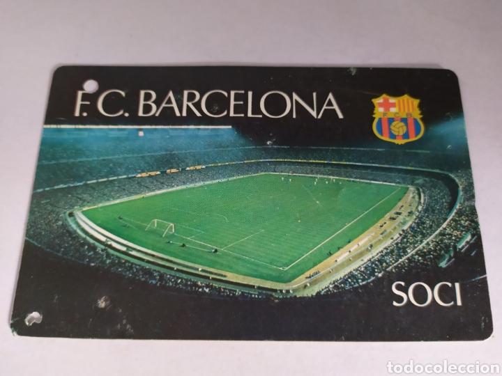 BARCELONA ABONO ANUAL TEMPORADA 1980 (Coleccionismo Deportivo - Documentos de Deportes - Carnet de Socios)