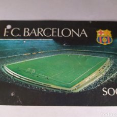 Coleccionismo deportivo: BARCELONA ABONO ANUAL TEMPORADA 1980. Lote 175131229