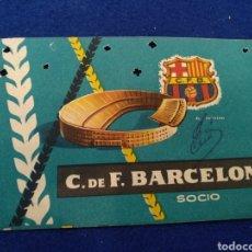 Coleccionismo deportivo: F.C BARCELONA, CARNET SOCIO 1959. Lote 178020149