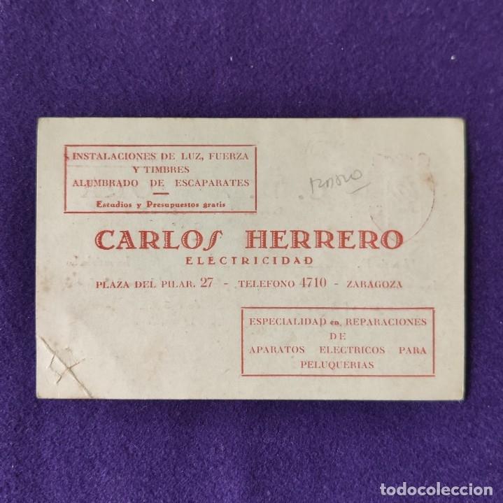 Coleccionismo deportivo: CARNET DE SOCIO DEL C.D. AURORA. ZARAGOZA. 1935. - Foto 2 - 178326041
