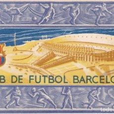 Coleccionismo deportivo: CARNET DEL FUTBOL CLUB BARCELONA DEL AÑO 1956 - 3º TRIMESTRE (FOOTBALL) BARÇA. Lote 178654722