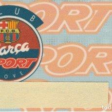 Coleccionismo deportivo: TARJETA CLUB BARÇA SPORT DE BANCA CATALANA (FUTBOL CLUB BARCELONA) (FOOTBALL). Lote 178677997