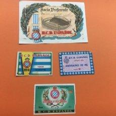 Coleccionismo deportivo: R.C.D .ESPAÑOL LOTE CAJA 1. Lote 178938733