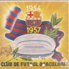 Coleccionismo deportivo: CARNET DEL FUTBOL CLUB BARCELONA DEL AÑO 1957 - 2º TRIMESTRE (FOOTBALL) BARÇA. Lote 183689141