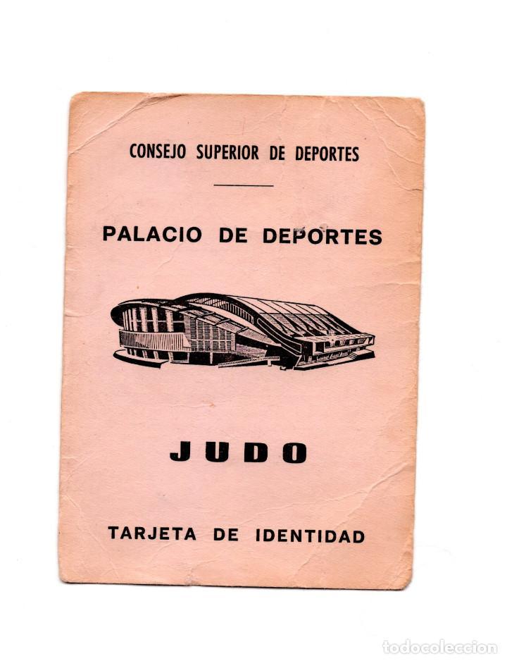 Coleccionismo deportivo: CARNET DE JUDO. 1979. - Foto 2 - 190814585