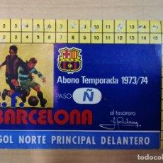 Coleccionismo deportivo: F.C. BARCELONA, TEMPORADA 1973-1974, CAMPEONES DE LIGA. Lote 191248676