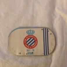 Coleccionismo deportivo: CARNÉ SOCIO RCD ESPAÑOL 1977/1978. Lote 191307933