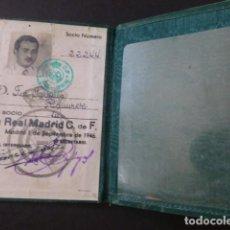 Coleccionismo deportivo: REAL MADRID CLUB DE FUTBOL CARNET DE SOCIO 1946. Lote 193858848