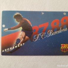 Coleccionismo deportivo: CARNET DE SOCIO DEL FC BARCELONA (TEMPORADA 1987/1988 87/88) . Lote 194062472