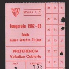Coleccionismo deportivo: CARNET SOCIO PREFERENCIA-SEVILLA, C.F. TEMPORADA 1982-83- - VER FOTOS. Lote 199802048
