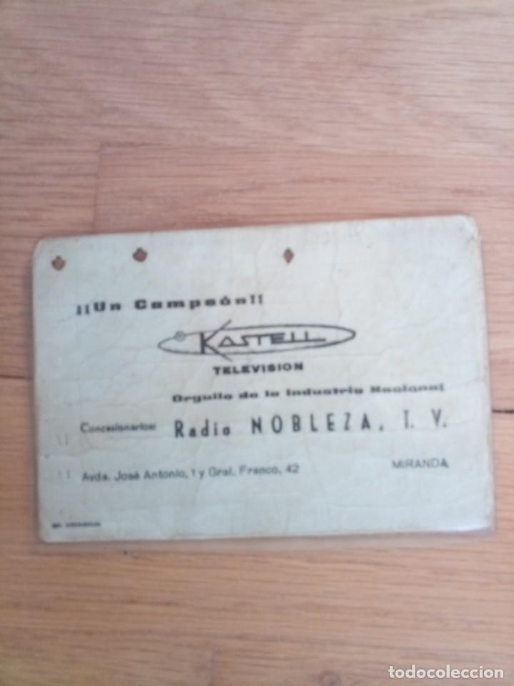 Coleccionismo deportivo: Carnet fútbol club deportivo mirandés 1969 - Foto 3 - 200263572